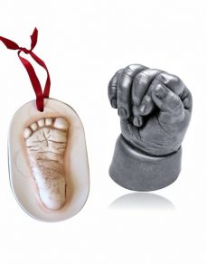 Hanging decoration & Baby hand and foot statues