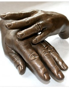 Adults Holding Hands Statue