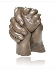 Older Children - Clasping Hands Statue