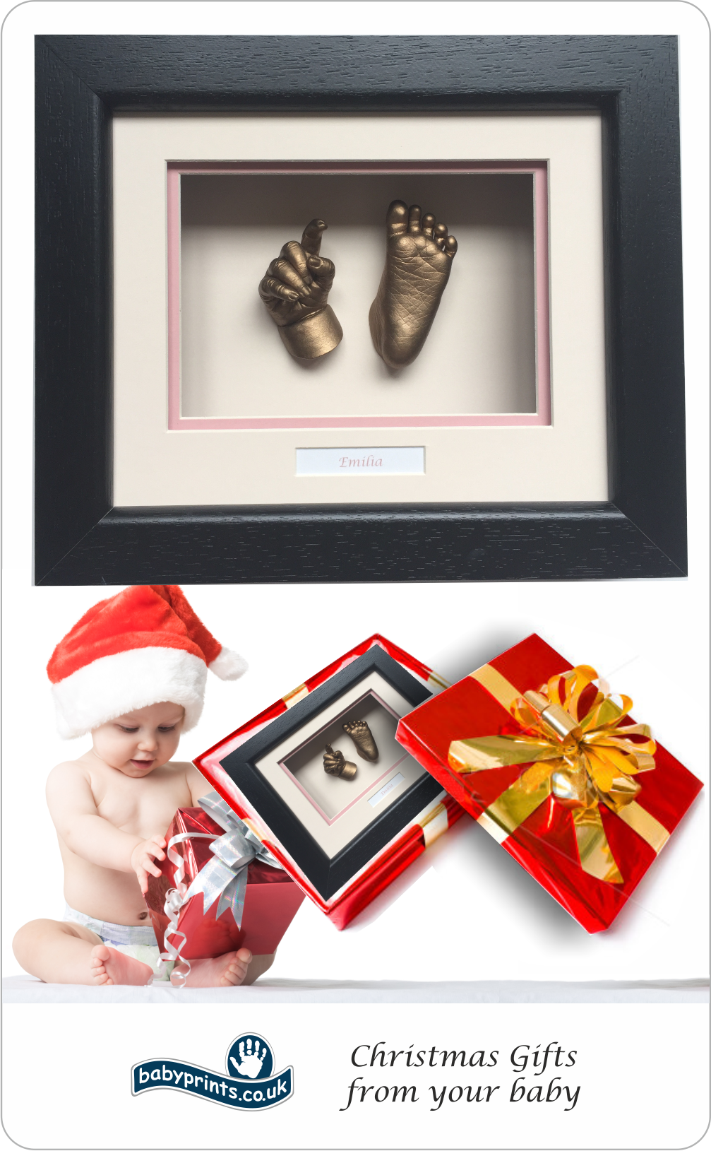 Christmas Gift from baby - Babyprints